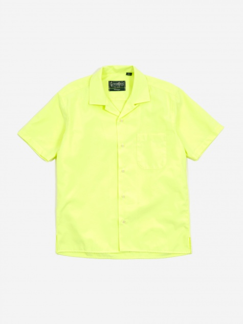 Camp Shortsleeve Shirt - American Neon Oxford