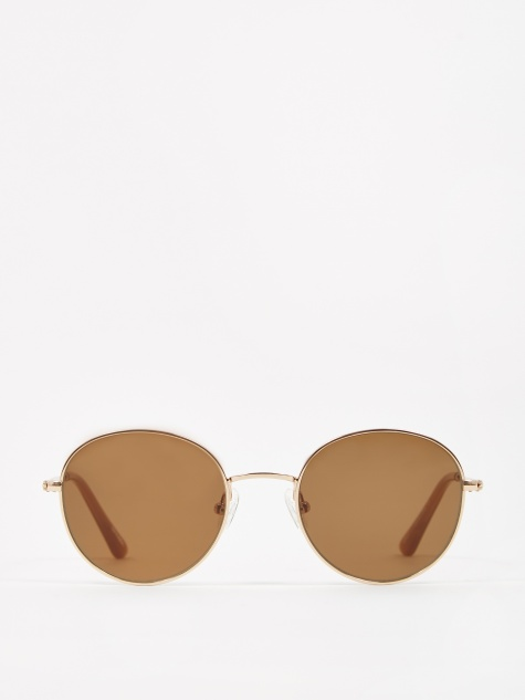 Ozzy Sunglasses - Gold/Brown