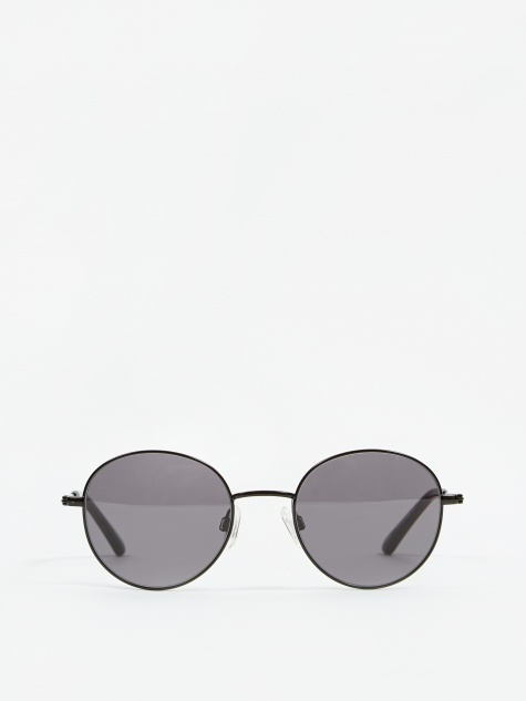 Ozzy Sunglasses - Black/Transparent Grey