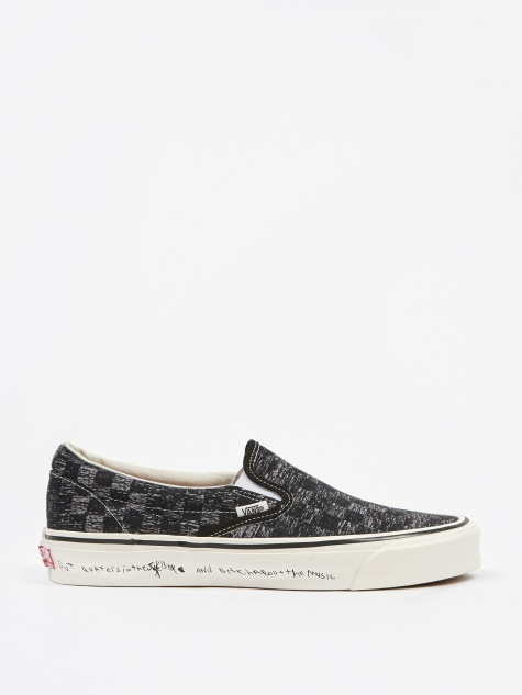 Vault x Jim Goldberg OG Classic Slip-On LX - TV Static