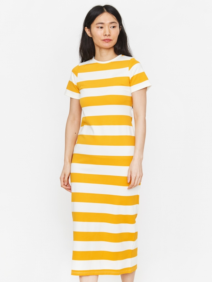 LF Markey Paolo Dress - Yellow (Image 1)