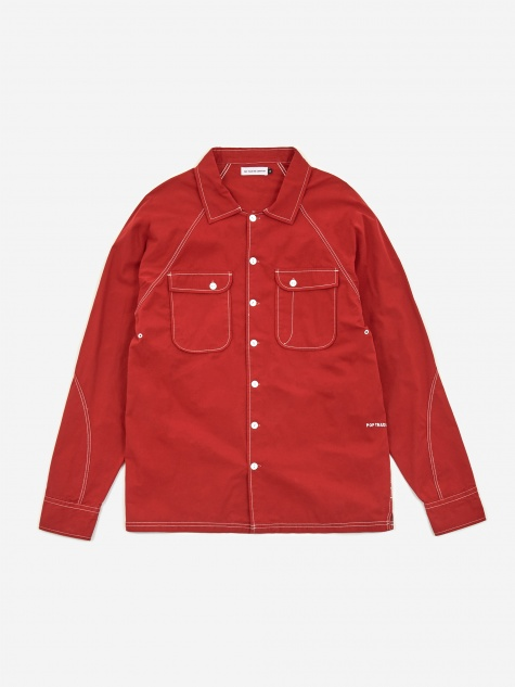 Herman Shirt - Pepper Red