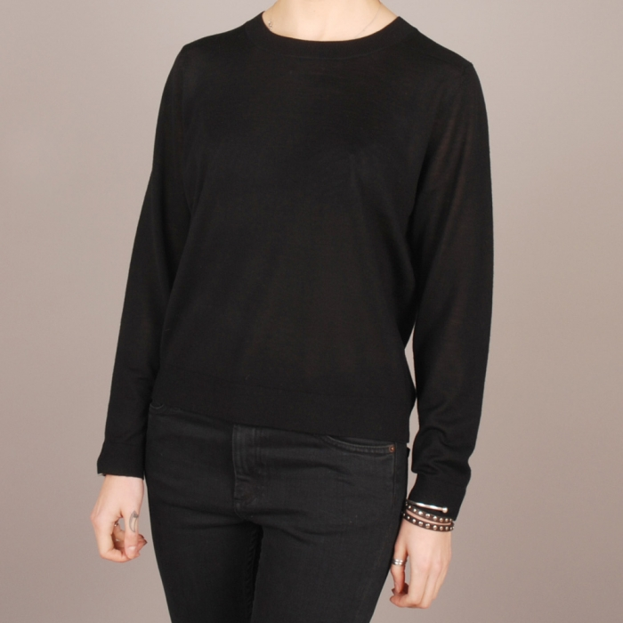 Surface To Air Dalley Jumper - Jet Black (Image 1)