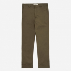Norse Projects Aros Slim Light Stretch Trouser - Ivy Green