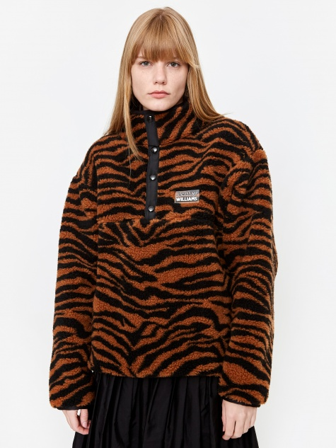 Juju Fleece Jacket - Tiger
