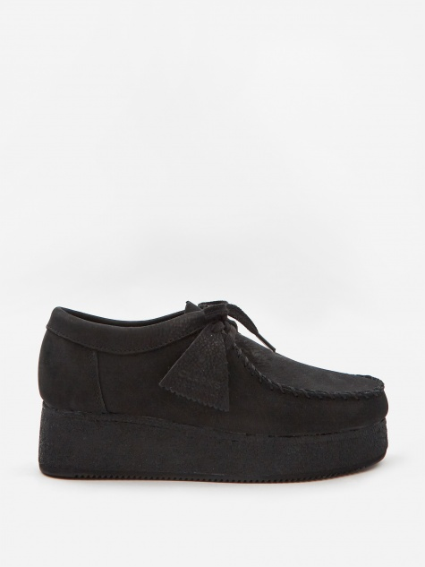 Clarks Wallacraft Lo - Black Nubuck