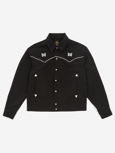 Piping Cowboy Shirt - Black