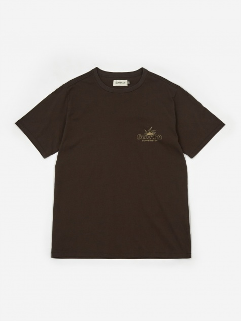 Cosmos Soundsystem T-Shirt - Washed Black