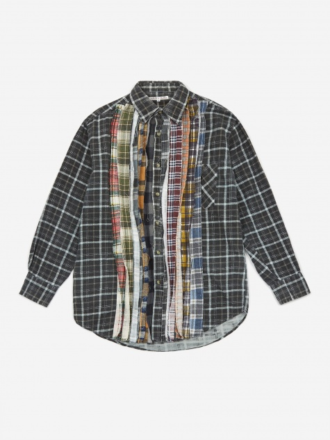 Rebuild Flannel Ribbon Shirt - Assorted