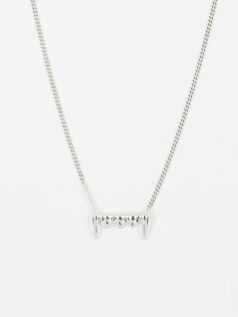 Original Fang Necklace - Silver