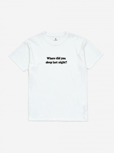 Don't Lie T-shirt - White