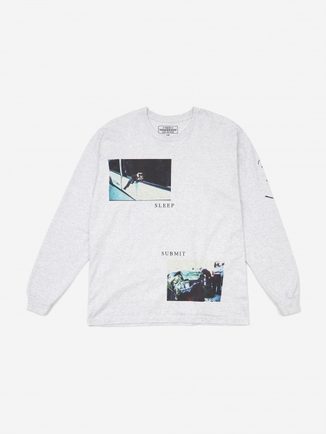 NHON Sleep/ C-Tee Longsleeve - Grey
