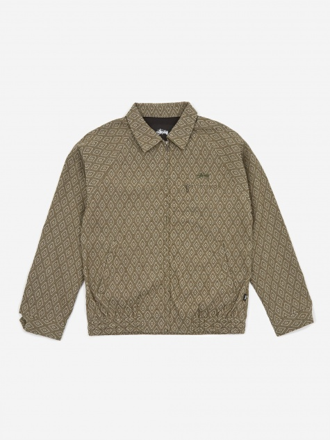 Bryan Diamond Jacket - Olive