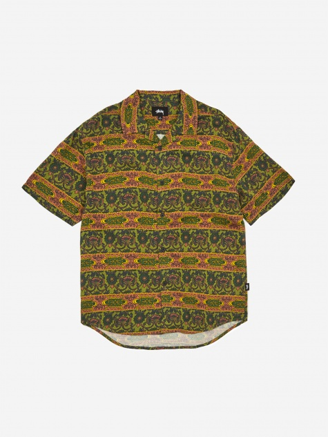Baroque Shirt - Olive
