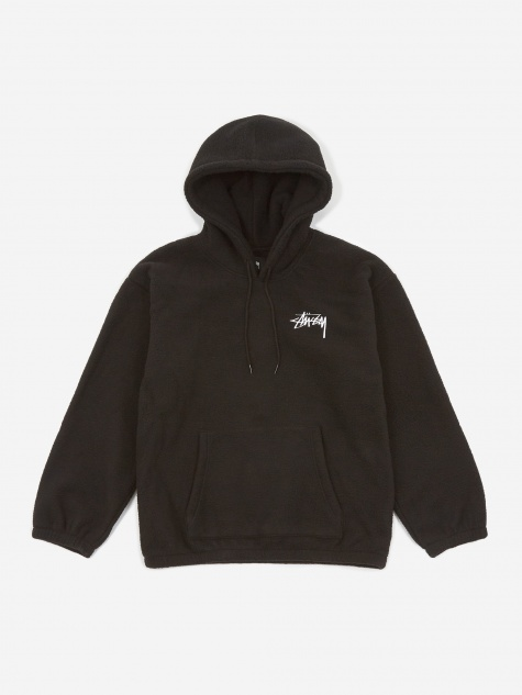 Bronson Polar Fleece Hoodie - Black