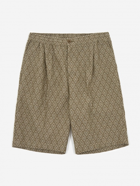 Bryan Diamond Short - Olive