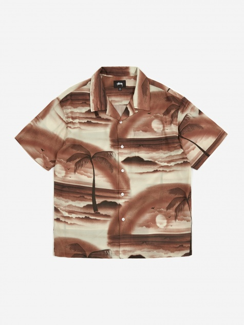 Island Shirt - Brown