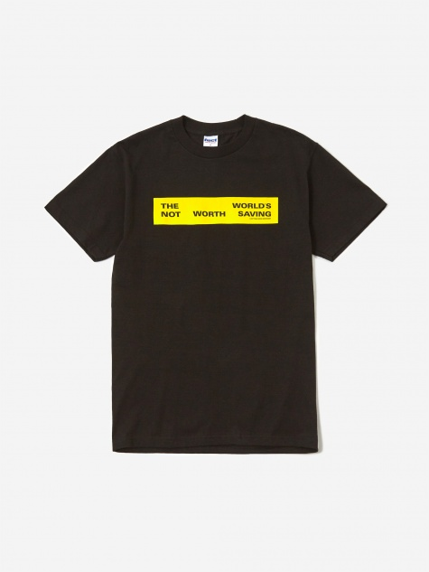 Not Worth Saving Shortsleeve T-Shirt - Black