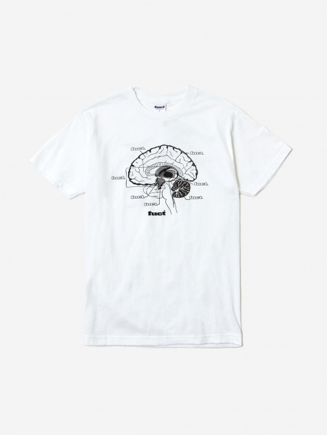 Mind Fuct Shortsleeve T-Shirt - White