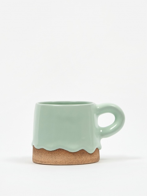 Tapered Mug - Mint/Toast