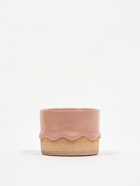 Small Cylinder - Peach/Toast