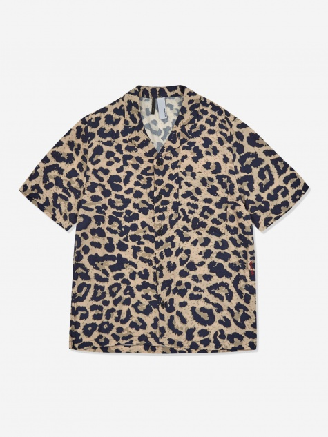 Camp Collar Shirt - Leopard