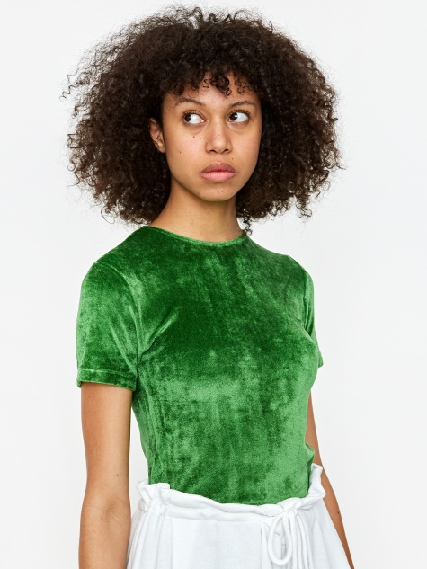 Omo Shortsleeve T-Shirt - Fawn Green
