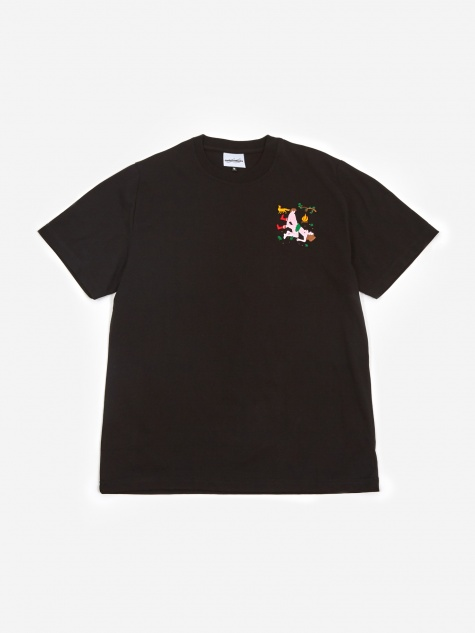 Girth Wind and Fire Shortsleeve T-Shirt - Black