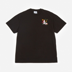 Carne Bollente Girth Wind and Fire Shortsleeve T-Shirt - Black