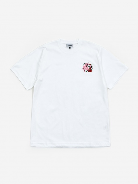 Tied For The Gods Shortsleeve T-Shirt - White