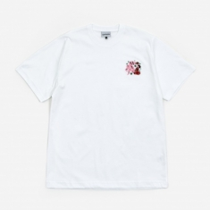 Carne Bollente Tied For The Gods Shortsleeve T-Shirt - White