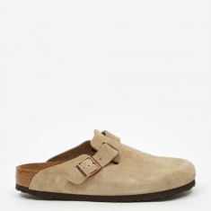Birkenstock Boston Suede - Taupe