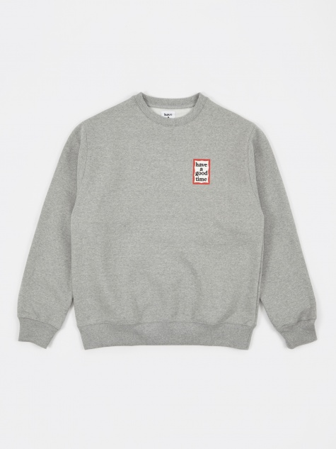 Mini Frame Sweatshirt - Heather Grey
