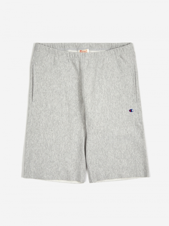 Champion Reverse Weave Track Shorts - Grey (Image 1)