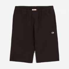 Champion Reverse Weave Track Shorts - Black