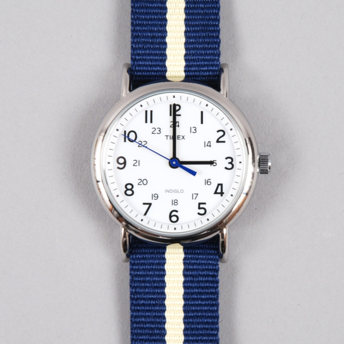 Timex Weekender Watch - Navy/Cream (Image 1)