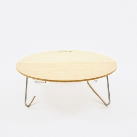 Single Action Round Low Table - Small