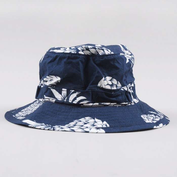 Neighborhood Aloha Bucket Hat - Navy (Image 1)