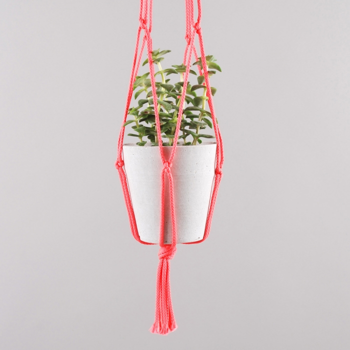Goods By Goodhood Plant Hanger - Neon Pink (Image 1)