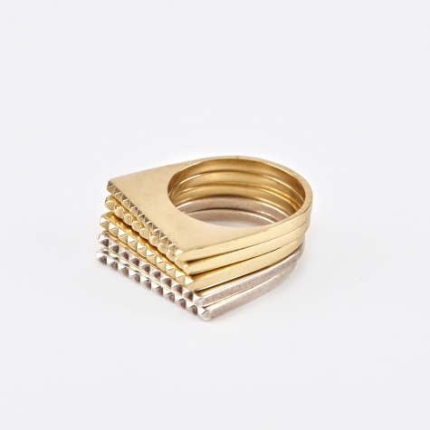 DuPoint Rings - Yellow Gold