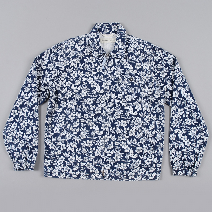 Universal Works Windcheater - Navy (Image 1)