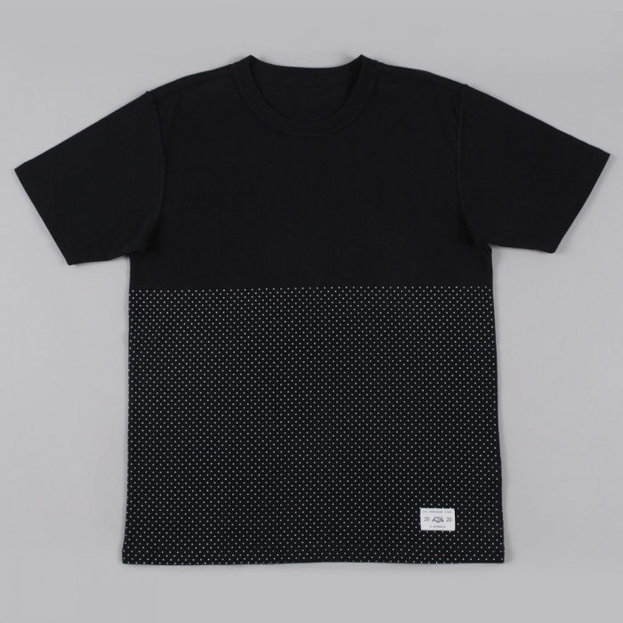 Goodhood X R. Newbold Goodhood x R.Newbold Dot S/S T-Shirt - Black (Image 1)