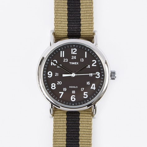 Weekender Watch - Black/Olive