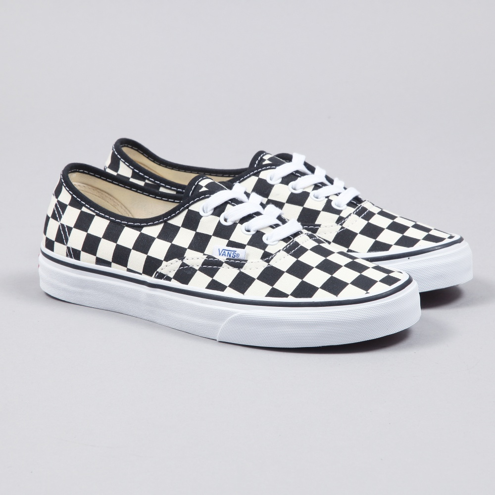 vans checkerboard lace up