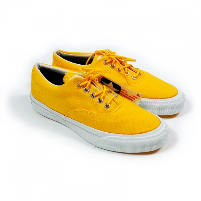 Vintage Deadstock Converse Skid Grip: Sunflower Yellow (Image 1)