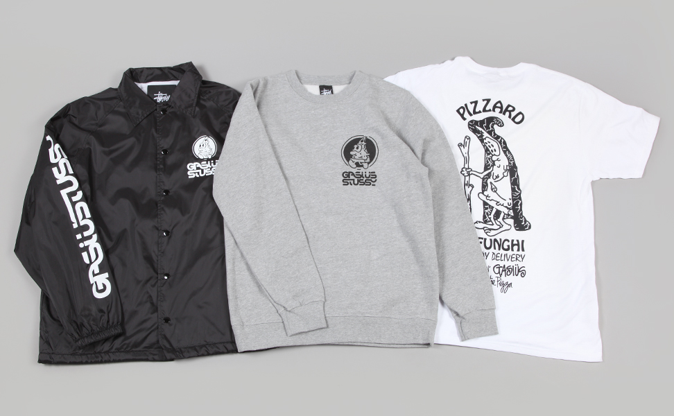 eb00b4fb3a Stussy x Gasius Collection