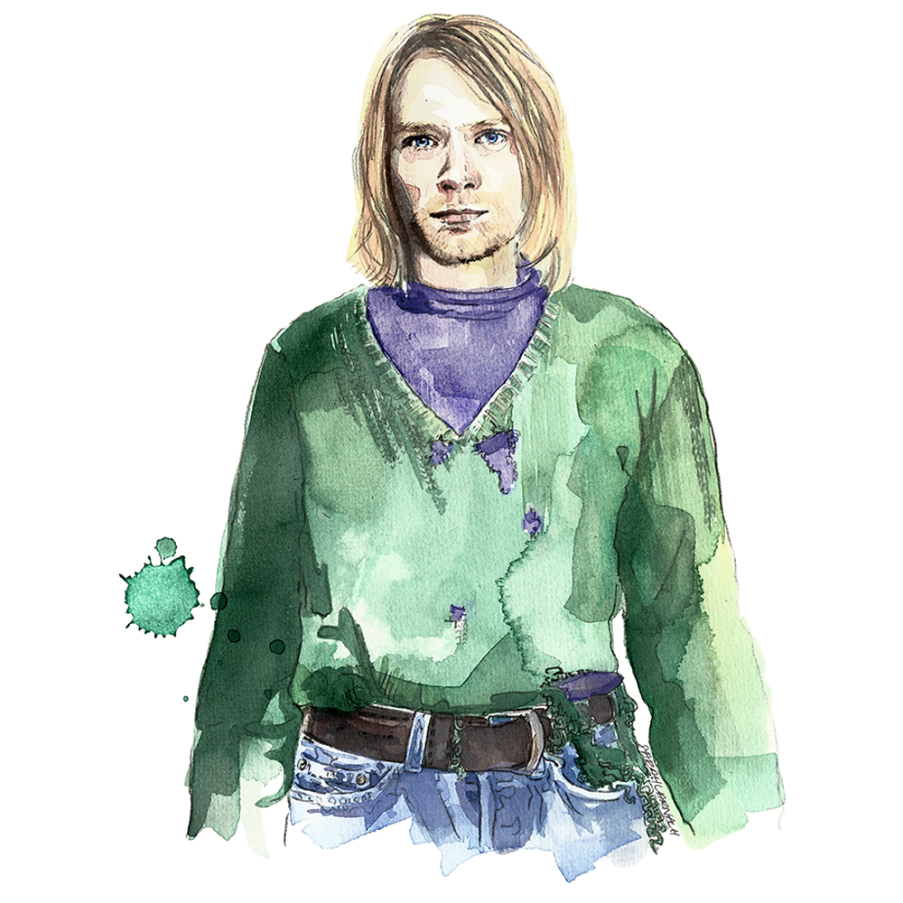 Kurt Cobain The Ultimate Grunge Style Guide