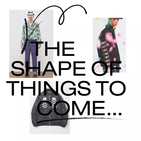 The Shapes of Things to Come SS18 Mens