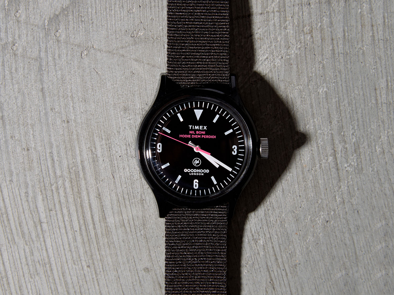 Goodhood x Timex