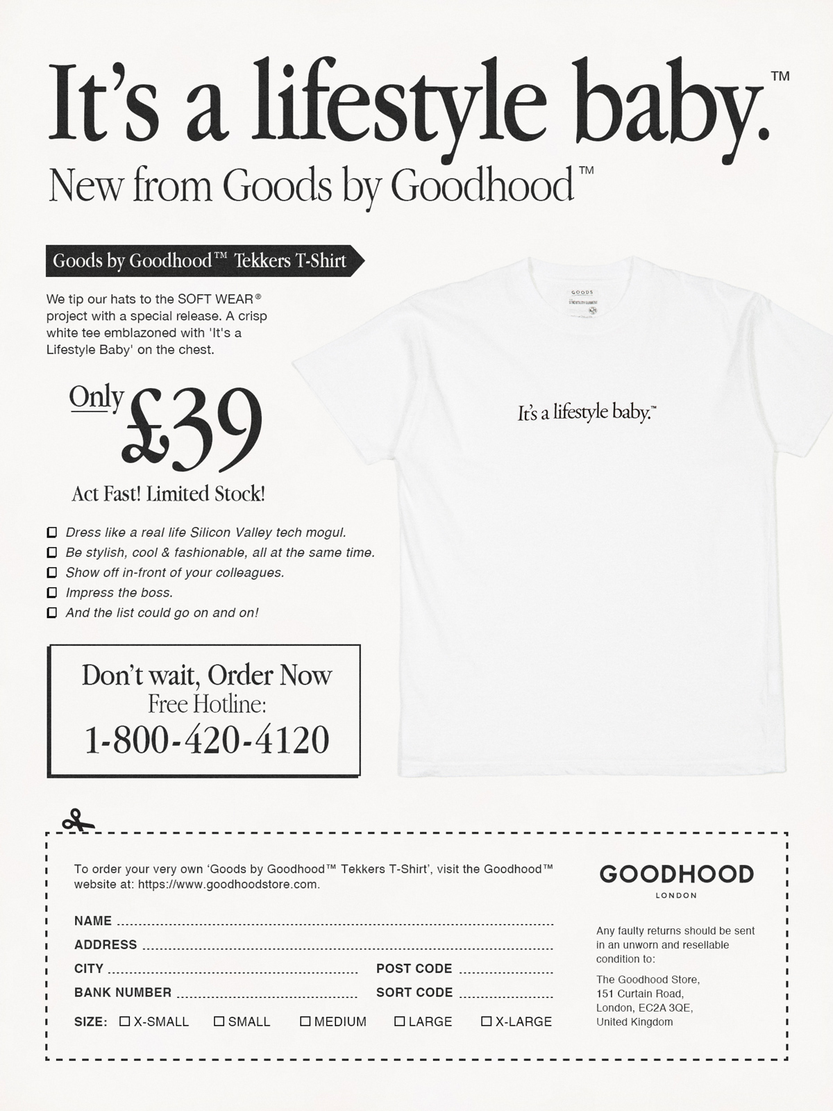 Soft Wear by Goodhood & Unified Goods | GOODHOOD